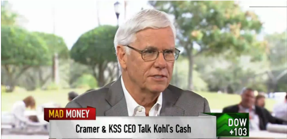 Physical stores critical: Kohl's CEO