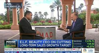 e.l.f Beauty CEO on Growth